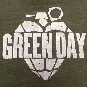 Green Day American Idiot T shirt 2004 sz XL